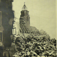 Dresden Ruins 1949 Photo Book w/100+ photogravure -  after WW2 bombing raid