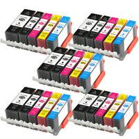 25 PK INK PGI-220 CLI-221 XL NON-OEM FOR CANON PIXMA IP3600 IP4600 MP620 MP980