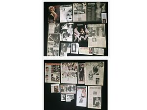 Madonna COLLECTION OF MAGAZINE CLIPPINGS ARTICLES 80's 90's