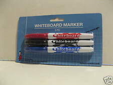 Dry Erase Board Markers. Set of Three. Three Colors Sealed.