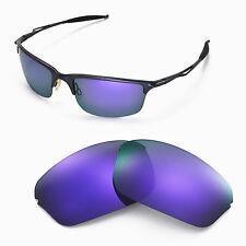 New WL Polarized Purple Replcement Lenses For Oakley Half Wire 2.0 Sunglasses