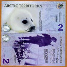 Arctic Territories, $2, 2010, Polymer, UNC > Baby Seal