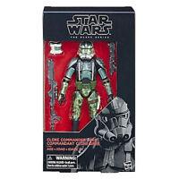 "Hasbro Star Wars Black Series 6"" Action Figure Clone Commander Gree Exclusive"