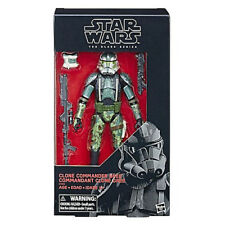 "Hasbro Star Wars Black Series 6"" Action Figure Clone Commander Gree Exclusive"