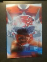 MIGHTY MORPHIN POWER RANGERS #41 Red Ranger Foil Variant Boom Comic Book NM HOT
