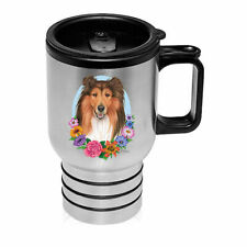 Collie Sable Stainless Steel 16oz Tumbler