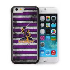 Licensed NRL Melbourne Storm Back Case for iPhone 6 - Grunge