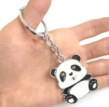 1pcs Large Panda key Chain Creative Cute Men/Women key Metal Car key Ring/Chain