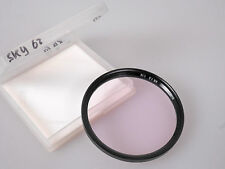 Two 62 mm filters: Skylight and Haze by B+W
