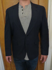 Jos. A. Bank 40 R Unstructured Partially Lined Navy Blue Suit jacket Single Vent