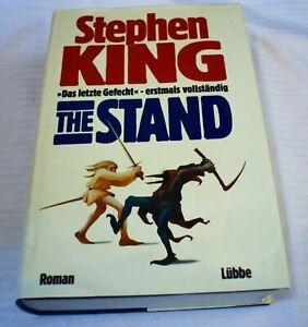 Stephen King - The Stand - Das letzte Gefecht - gebundene Erstausgabe ungekürzt