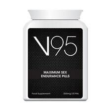V95 MAXIMUM SEX ENDURANCE PILLS LAST LONGER HAVE ENERGY AND STAMINA SEXY