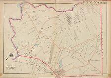 1913 OLD TAPPAN BERGEN COUNTY NEW JERSEY ORANGEBURGH RD - HUDSON RIVER ATLAS MAP