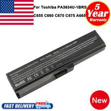 Battery for Toshiba Satellite PA3817U-1BRS PA3634U-1BRS A660 A665 L650 L700 C655