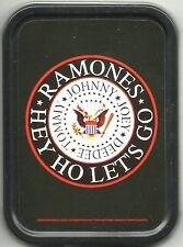 RAMONES hey ho lets go 2008 oblong STASH TIN usa IMPORT no longer made OFFICIAL