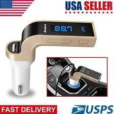 Bluetooth Car Kit Wireless FM Transmitter USB Charger Audio MP3 Player