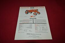 Allis Chalmers D-10 D-12 Industrial Tractor Dealer's Brochure YABE11