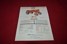 Allis Chalmers D-10 D-12 Industrial Tractor Dealer's Brochure YABE11