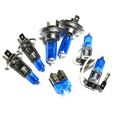 AUDI TT 8N H7 H1 H3 H6W 55 W ICE BLUE XENON HID ALTO/BASSO/Nebbia/lato HEADLIGHT Bulbs