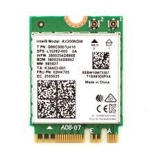 Intel WiFi 6 AX200 Network 802.11ax MU-MIMO 80MHz+80MHz/160MHz Bluetooth 5 Card