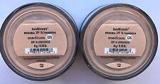 Bare Escentuals Bare Minerals Foundation Medium C25 8g XL  SPF15 <PACK OF 2