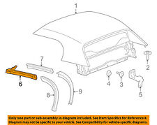 GM OEM Convertible/soft Top-Front Weatherstrip Seal Left 19152961