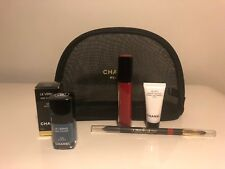 Chanel Le Vernis Nail Polish Pirate Lipstick 19 Rouge Le Lift Creme Bag SET OF 5