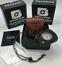 Brunton® Omni-Sight Sighting LED Illuminated Compass + ALUMINUM Housing & Sheath