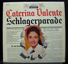 Caterina Valente - Schlagerparade LP Decca Mono 1st Press 1958 Vinyl Record