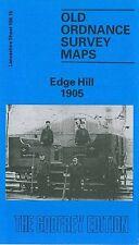OLD ORDNANCE SURVEY MAP EDGE HILL 1905