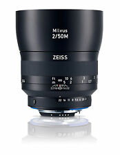ZEISS Milvus 50mm F/2m Zf.2 Lens for Nikon F Mount Cameras - 2096-558