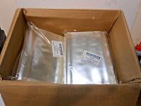 "Bags Reclosable Polypropylene Uline S-6623 Flat 8""x10"" Acid Free Food 500ct"