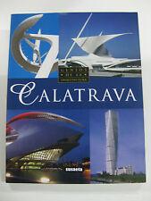 CALATRAVA-GENIOS DE LA ARQUITECTURA-NUEVO!! EDICIONES SUSAETA