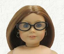 Doll Clothes Glasses Black Plastic Fit 18 inch American Girl