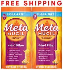 Metamucil 4-in-1 Psyllium Fiber, Sugar-Free, 260 Servings, 53.2 ounces (3.3 lbs)