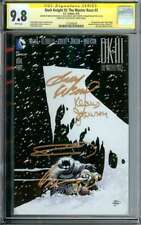 DARK KNIGHT III: THE MASTER RACE #3 CGC 9.8 WHITE PAGES // SIGNED BY MILLER + 3