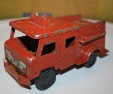 ANTIQUE TIN FIREMAN AND FIRETRUCK Car Soviet