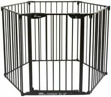 Dreambaby Gates & Doorways Mayfair Converta In Play-pen Panel Gate, Black