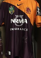 WALLY LEWIS SIGNED BRONCOS JERSEY