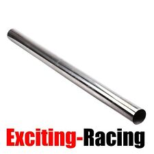 """4"""" Inch 102MM 4FT Straight Exhaust Pipe Tube Piping Tubing T-304 Stainless Steel"""