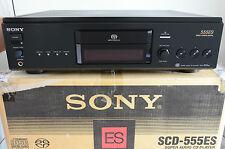Sony scd-555es SACD/reproductor de CD con accesorios
