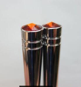 Lowrider hydraulics switch extension Carling,Peterbilt, OrangeRed, 2 pcs, w/key