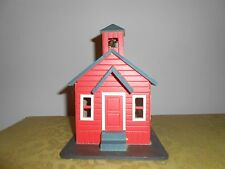 Red School house music box