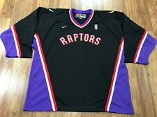 MENS XL - Vtg NBA Toronto Raptors Nike Hockey Jersey