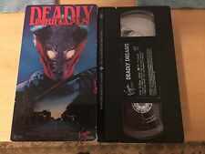 Deadly Dreams (VHS, 1988) - RARE and OOP!!!