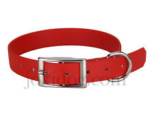 Collier biothane beta 25 mm x 60 cm rouge - jokidog