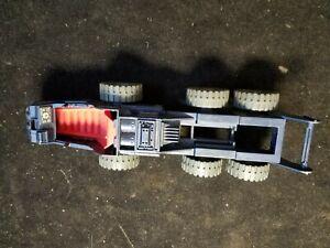 """Vintage 1987 Hasbro G.I. GI Joe Cobra Vehicle Incomplete 9-1/2"""" Long"""