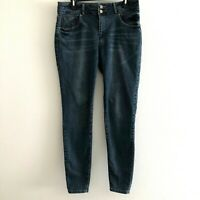 """Mossimo women's sz 12 jeans skinny stretch high rise inseam 30"""""""