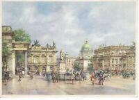 AK Ansichtskarte Das alte Berlin / Linden / Partie am Zeughaus / Kunstbild