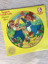 Vintage Raggedy Ann & Andy HAPPINESS Picture Disc 1981 LP Record